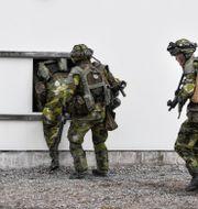 Soldater/illustrationsbild.  Pontus Lundahl/TT / TT NYHETSBYRÅN
