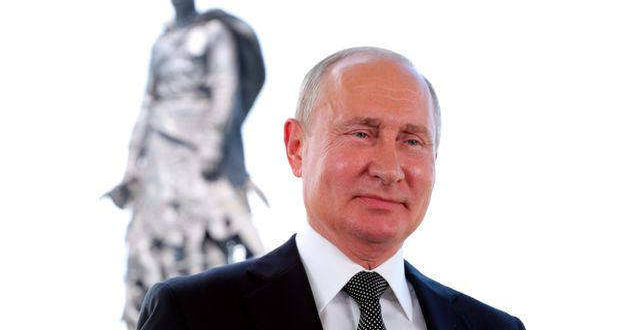 Vladimir Putin. Mikhail Klimentyev / TT NYHETSBYRÅN