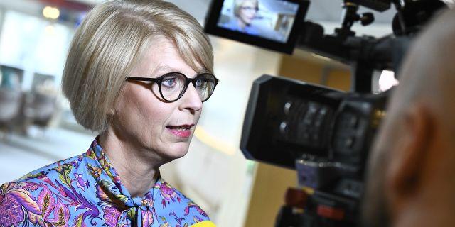 Elisabeth Svantesson.  Claudio Bresciani/TT / TT NYHETSBYRÅN