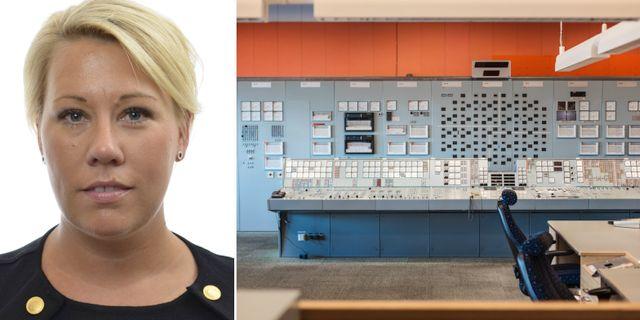 Camilla Brodin/Barsebäcks kärnkraftsverk. Riksdagen/TT