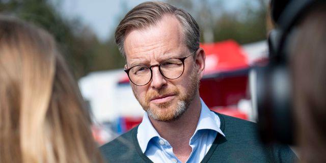 Mikael Damberg (S).  Johan Nilsson/TT / TT NYHETSBYRÅN