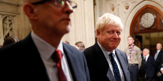 Arkivbild: Boris Johnson.  POOL / TT NYHETSBYRÅN