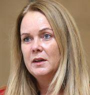 Fisk/Landsbygdsminister Jennie Nilsson (S). TT