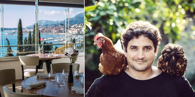 Chefskocken Mauro Colagreco använder uteslutande färska lokala råvaror. Mirazur | Instagram.com/mirazur
