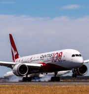 Ett 787Dreamliner-plan i Sydney. James Morgan / TT NYHETSBYRÅN