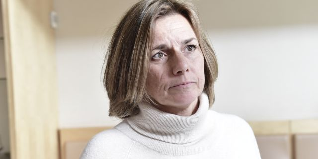 Isabella Lövin (MP). Stina Stjernkvist/TT / TT NYHETSBYRÅN