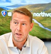 Batteritillverkaren Northvolts vd Peter Carlsson. Jonas Ekströmer/TT / TT NYHETSBYRÅN