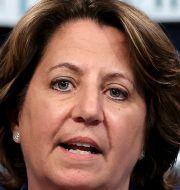 USA:s vice justitieminister, Lisa Monaco, meddelar att majoriteten av lösensumman har återfåtts. Jonathan Ernst / TT NYHETSBYRÅN