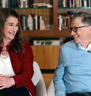 Melinda och Bill Gates. TT