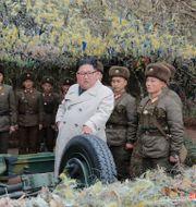 Kim Jong-Un. Arkivbild. ????? / TT NYHETSBYRÅN