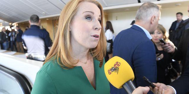 Annie Lööf. Fredrik Sandberg/TT / TT NYHETSBYRÅN