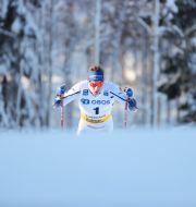 Johan Häggström under herrarnas sprintkval Adam Ihse/TT / TT NYHETSBYRÅN