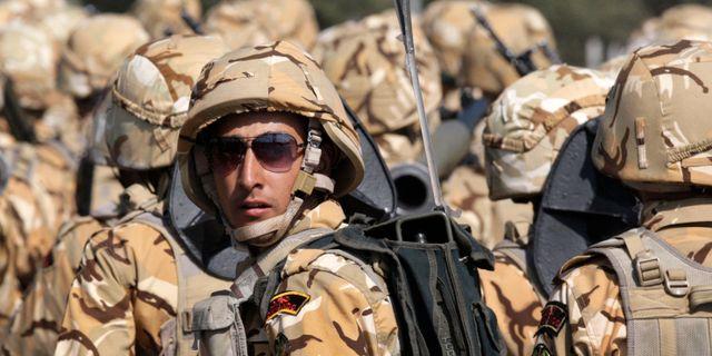 Arkivbild, iransk soldat 2012. Vahid Salemi / TT NYHETSBYRÅN