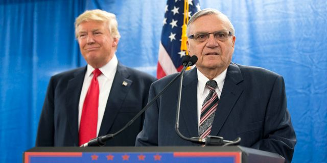 Donald Trump/Joe Arpaio. Mary Altaffer / TT / NTB Scanpix