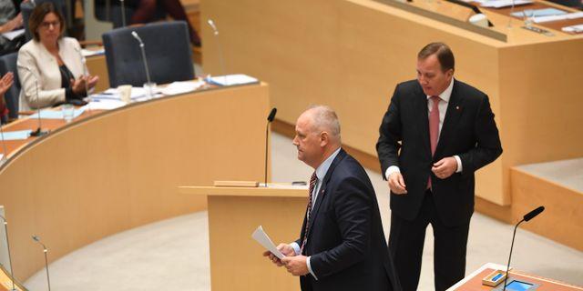 Vem ska Jonas Sjöstedt lämna över till? Fredrik Sandberg/TT / TT NYHETSBYRÅN