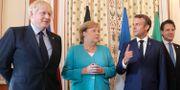 Arkivbild: EU-ledare under G7-mötet i Frankrike i augusti. Markus Schreiber / TT NYHETSBYRÅN