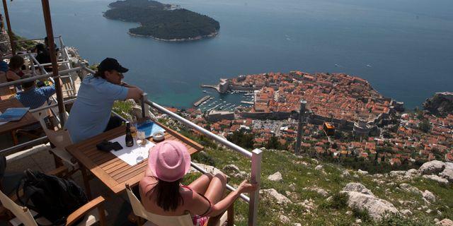 Bild från Dubrovnik. Darko Bandic / TT NYHETSBYRÅN
