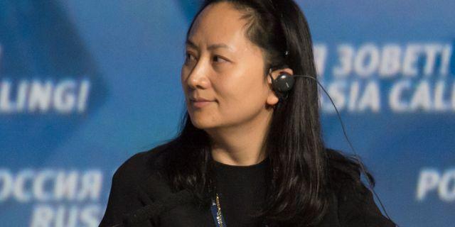 Arkivbild: Meng Wanzhou STRINGER / TT NYHETSBYRÅN