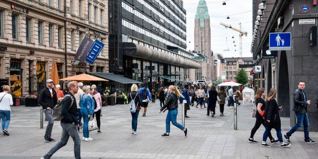Helsingfors. Arkivbild. Wiktor Nummelin/TT / TT NYHETSBYRÅN
