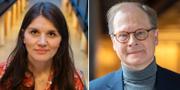 Jenny Madestam och Mats Knutson. Arkivbilder. TT