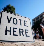Röstningen i Georgia har redan påbörjats. John Bazemore / TT NYHETSBYRÅN