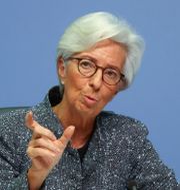 Christine Lagarde. Kai Pfaffenbach / TT NYHETSBYRÅN