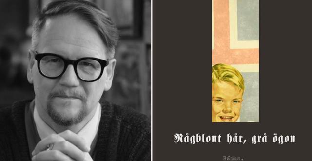 "Sjóns nya roman ""Rågblont hår, grå ögon"". Rámus förlag."