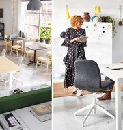 Ett kreativt kontor ska vara lekfullt och roligt men inte barnsligt, enligt IKEAs expert. © Inter IKEA Systems B.V. 2020.
