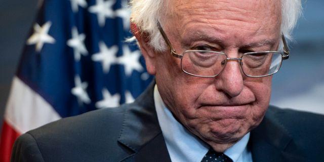 Bernie Sanders. SAUL LOEB / AFP