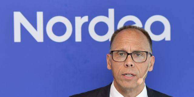 Nordeas vd Frank Vang-Jensen Jonas Ekströmer/TT / TT NYHETSBYRÅN
