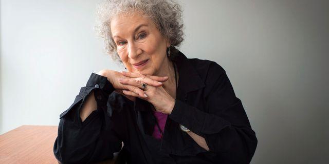 Margaret Atwood. Arkivbild. Aaron Vincent Elkaim / TT NYHETSBYRÅN