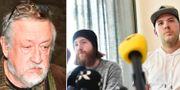 Persson, bröderna Robin Dahlén och Christian Karlsson TT