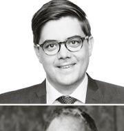 Uppe till vänster: Carl Sundblad. Nere till vänster: Peter Holt.  Pressbilder och TT