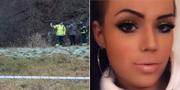 Flera fynd har gjorts i sökandet efter försvunna Emilia Lundberg. TT / Privat