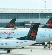 Illustrationsbild: Andra Air Canada-plan. Nathan Denette / TT NYHETSBYRÅN