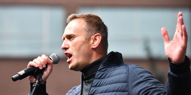 Aleksej Navalnyj. YURI KADOBNOV / AFP