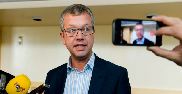 Moderaternas tidigare partisekreterare Kent Persson. Arkivbild från 2014. BERTIL ERICSON / TT / TT NYHETSBYRÅN