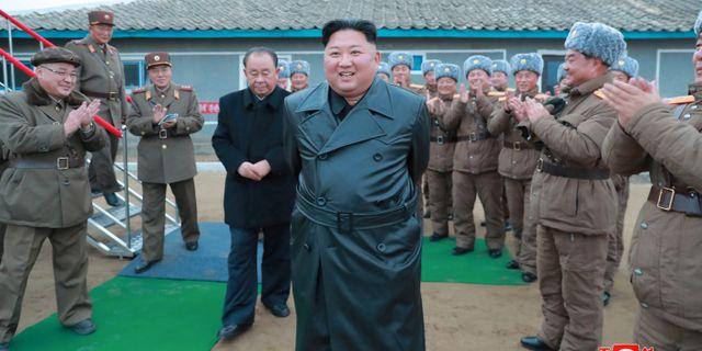 Kim Jong-Un KCNA / TT NYHETSBYRÅN