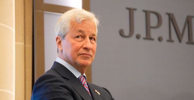 JP Morgans vd Jamie Dimon. Michel Euler / TT NYHETSBYRÅN