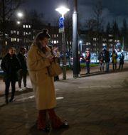Amsterdam i mars 2021ö Peter Dejong / TT NYHETSBYRÅN