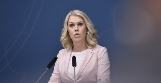 Lena Hallengren  Stina Stjernkvist/TT / TT NYHETSBYRÅN