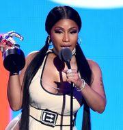 Nicki Minaj på helgens MVA-gala.   Theo Wargo / GETTY IMAGES NORTH AMERICA