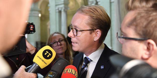 Tobias Billström  Henrik Montgomery/TT / TT NYHETSBYRÅN