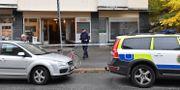 Avspärrningar på brottsplatsen. Jonas Ekströmer/TT / TT NYHETSBYRÅN
