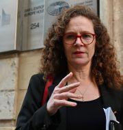Sophie in 't Veld på Malta idag. ANDREAS SOLARO / AFP