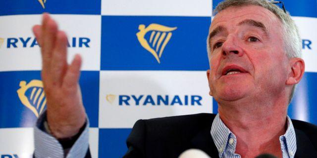 Ryanair spände musklerna