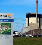 Reaktor 1 och 2 på Ringhals kärnkraftverk utanför Varberg där statliga Vattenfall är huvudägare. Arkivbild. ADAM IHSE / TT / TT NYHETSBYRÅN