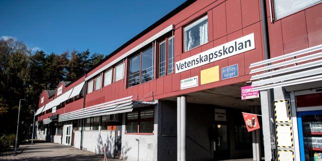 Vetenskapsskolan Björn Larsson Rosvall/TT / TT NYHETSBYRÅN