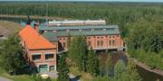 Vattenkraftverket Untra i Dalälven. Fortum