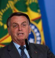 Jair Bolsonaro. Eraldo Peres / TT NYHETSBYRÅN